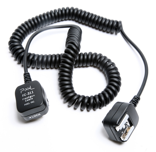 New Off Camera Cords for Canon and Nikon Flash Units